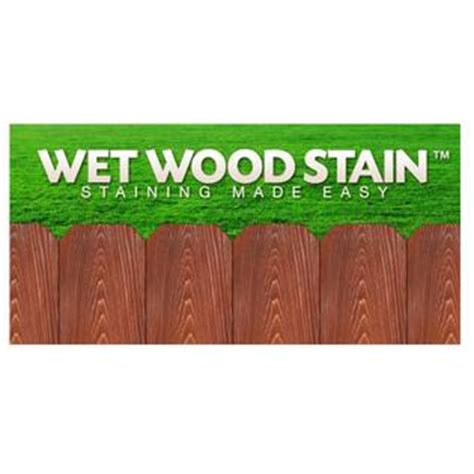 diamond  sierra brown wet wood stain  gal semi
