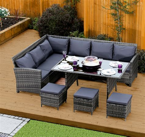 sofa dining set garden garden sofa dining set brokeasshome com