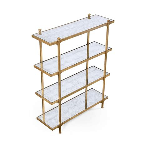 Etagere Glass by Glass Etagere Display Bookcase Swanky Interiors