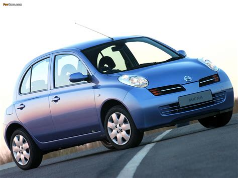 nissan micra 2004 2004 nissan micra k12 pictures information and specs