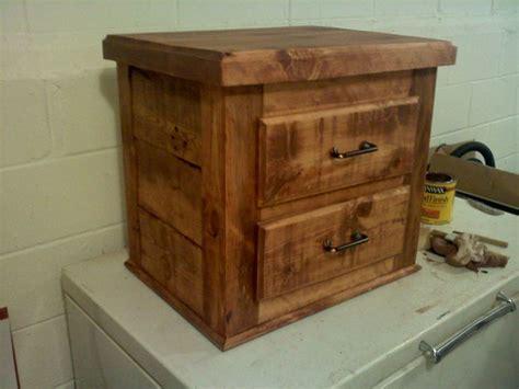 rough cut lumber nightstand woodworking pinterest