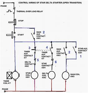 Control Circuit Of Star Delta Starter