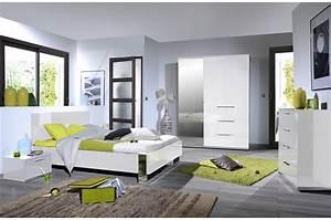 Chambre Complete But : chambre design laqu blanche et chrome ~ Teatrodelosmanantiales.com Idées de Décoration