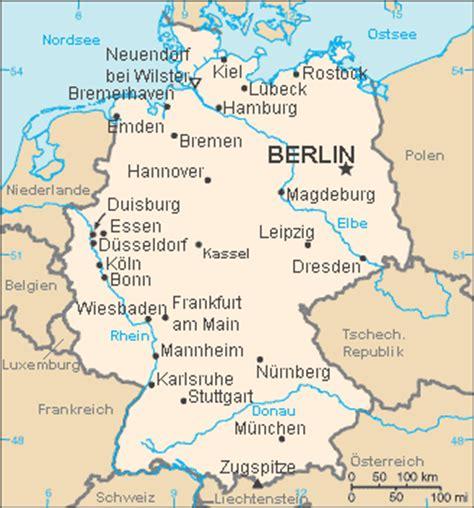Deutschland karte Region Bild | Deutschlandkarte