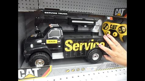 remote control caterpillar service toy truck
