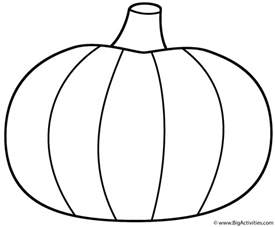 pumpkin coloring page thanksgiving