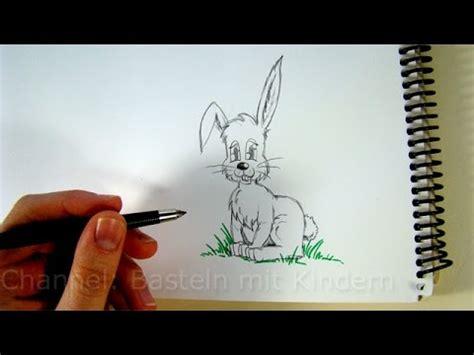 zeichnen lernen osterhase zeichnen hasen mit bleistift