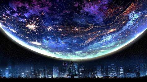 moon sky stars night cityscape wallpapers hd desktop