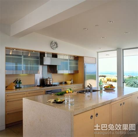 coastal inspired kitchens 洁净的家庭厨房装修效果图大全2014图片 土巴兔装修效果图 2271