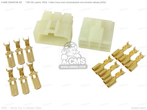 6-wire Connector Set Type 250 Electrical Maintenance Parts