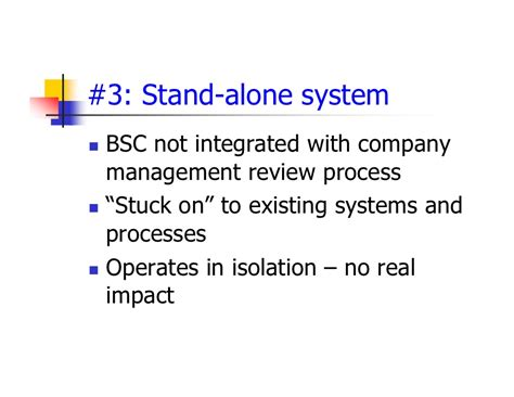 what does bsc stand for the balanced scorecard implementation challenges