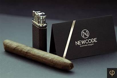 Cigar Club Logos Mockups Camo Included Note