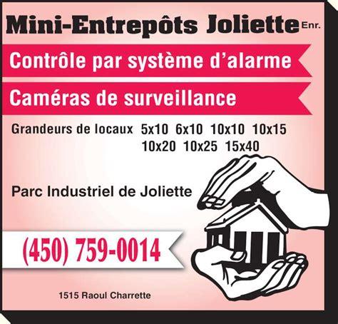 Mini-Entrepu00f4ts Joliette Enr - Parc Industriel de Joliette - Joliette QC - 1515 Rue Raoul ...