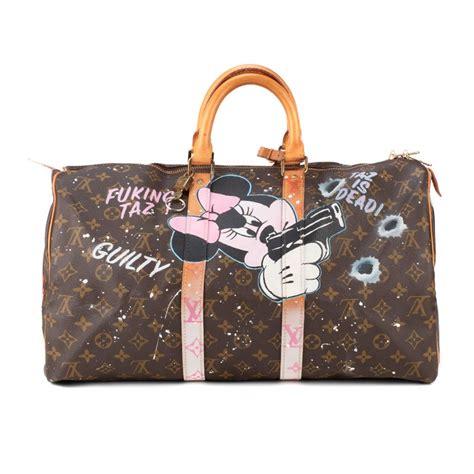 travel bag louis vuitton  monogram customized fucking taz  patbo  sale  stdibs