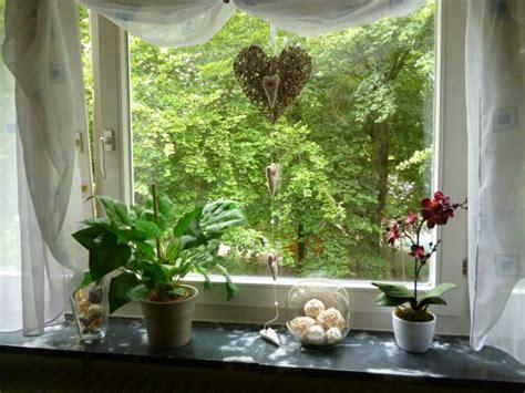 Dekoration Fenster Hängend by Wohnzimmer Fenster Deko Unser Gem 252 Tliches Heim