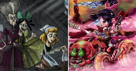 14 Scary Disney Fan Art Pics We Can't Look Away From ...