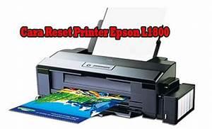 Cara Reset Printer Epson L1800 Dengan Resetter Mudah 100
