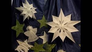 Sterne Aus Butterbrottüten Basteln : diy gro er weihnachts stern aus papier fr hst ckst ten basteln vorlage anleitung youtube ~ Watch28wear.com Haus und Dekorationen
