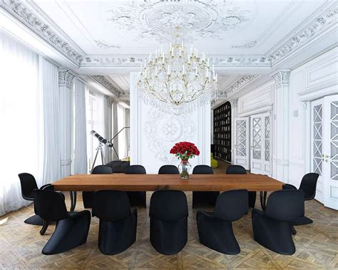 modern dining chairs   bring style   table