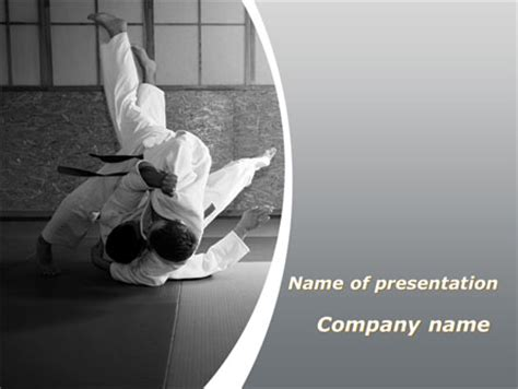 japan martial arts  template  powerpoint
