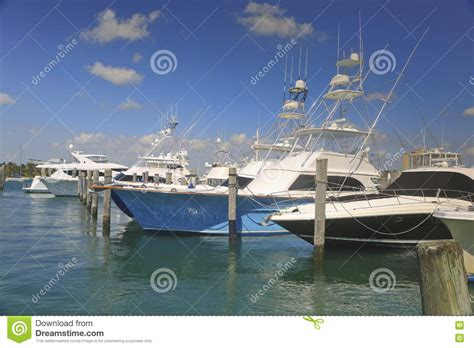 Fishing Boat Charters West Palm Beach by Charter Fishing Boats West Palm Beach Florida Usa Stock