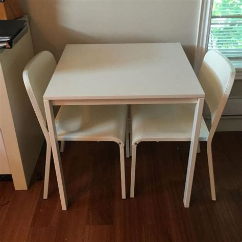 Melltorp Tisch Ikea by Find More Melltorp Ikea Table And Two Chairs For Sale At