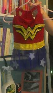 Diy Wonder Woman Dog Costume DIY Dog Clothes Made By Me ...