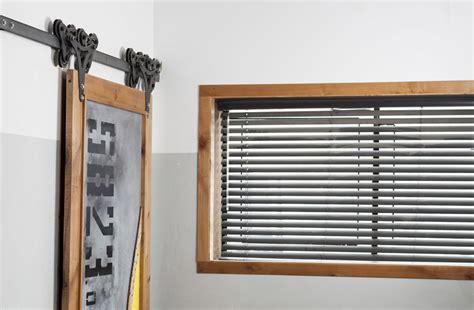 Rustica Hardware Industrial Minimalist Sliding Barn Doors