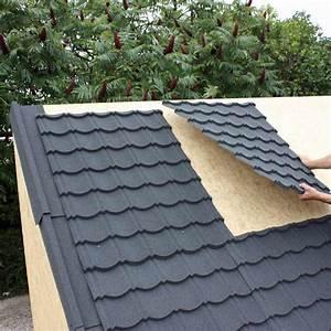 Toiture Abri De Jardin Castorama : revetement toit cabane couverture de tole guehenno online ~ Farleysfitness.com Idées de Décoration