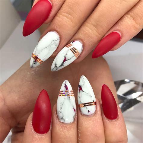 pin  natalie kay    nails  marble nails