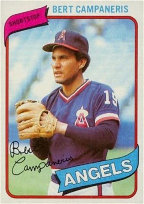 topps bert campaneris  baseball card  price