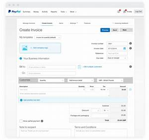 Invoice templates invoice generator paypal uk for How to get an invoice from paypal