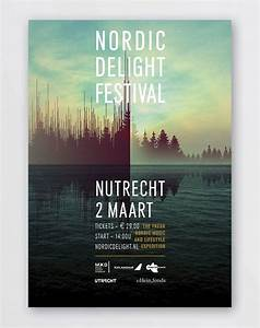 Nordic Delight Festival - Event Poster. I really like how ...