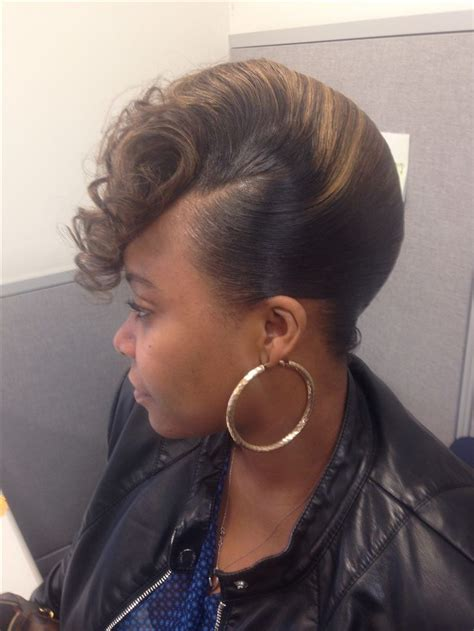 french roll hair styles pinterest black women hair