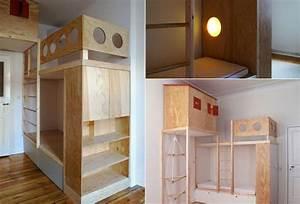 Hochebene Selber Bauen : das hochbett furniture hochbett bett kinderzimmer ~ Watch28wear.com Haus und Dekorationen