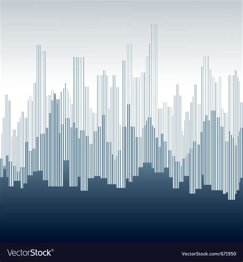 Abstract city background Royalty Free Vector Image