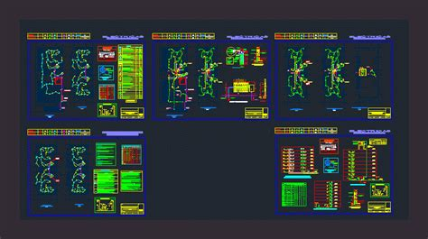 electrical multifamiliar dwg detail  autocad designs cad