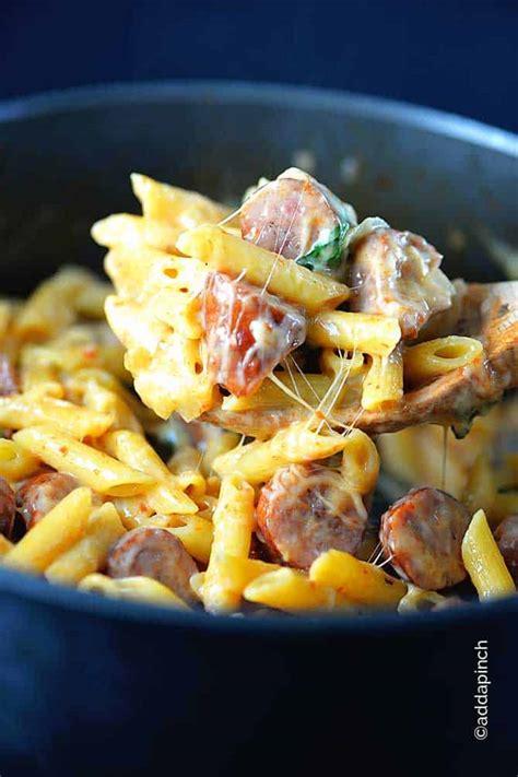 pot penne pasta recipe add  pinch