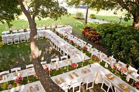 top  garden wedding venues florida davis island garden