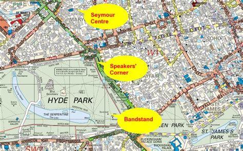 Hyde Park London Karte