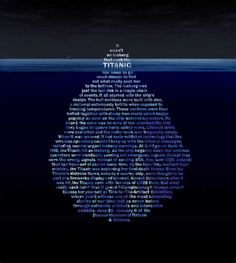 what year did the titanic sink teaching pinetree april 2012