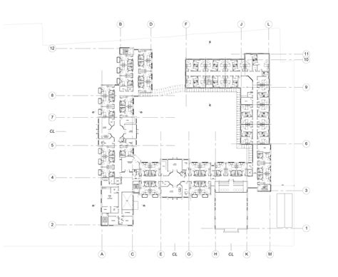 residential home floor plans residential care home proposed floor plan