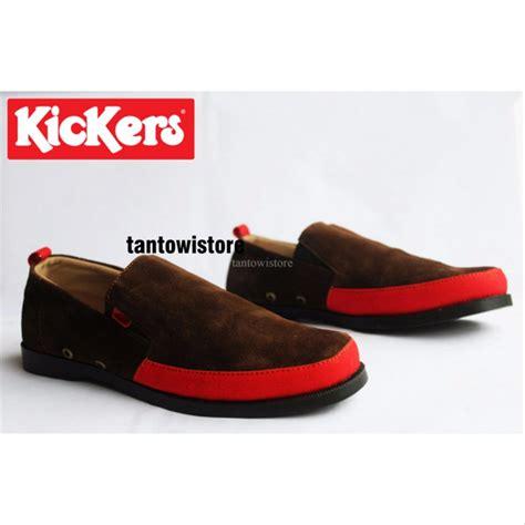 Sepatu Santai Termahal jual sepatu santai pria kickers terbaru slop slip on selop