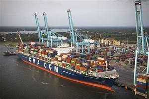 Largest container ship to reach US docks in Virginia – Las ...