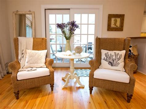 cottage seating by the sea house decor