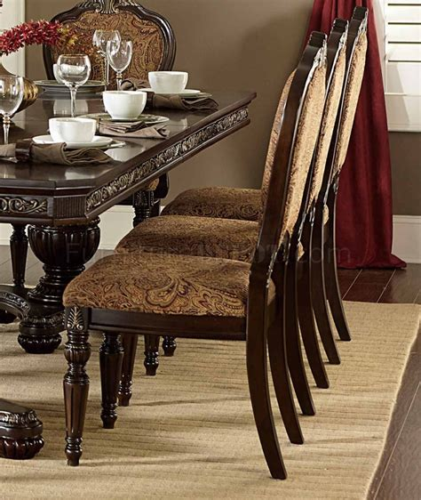 Russian Hill Upholstery by Russian Hill Dining Table By Homelegance