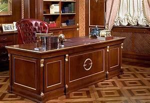 Bureau En Bois Massif : meuble bureau bois massif table bureau en verre lepolyglotte ~ Teatrodelosmanantiales.com Idées de Décoration