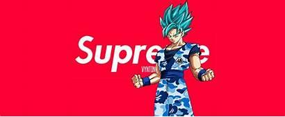 Supreme Goku Wallpapers Dragon Ball Bape Desktop
