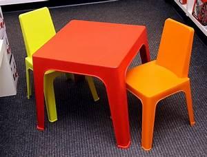 Table De Jardin Enfant : table et chaise de jardin pour enfant pi ti li ~ Teatrodelosmanantiales.com Idées de Décoration