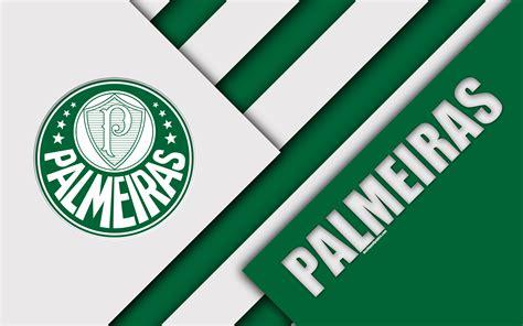 Palmeiras Fc, São Paulo, Brazil, 4k, Material Design ...